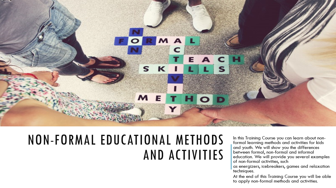Non-formal educational methods and activities