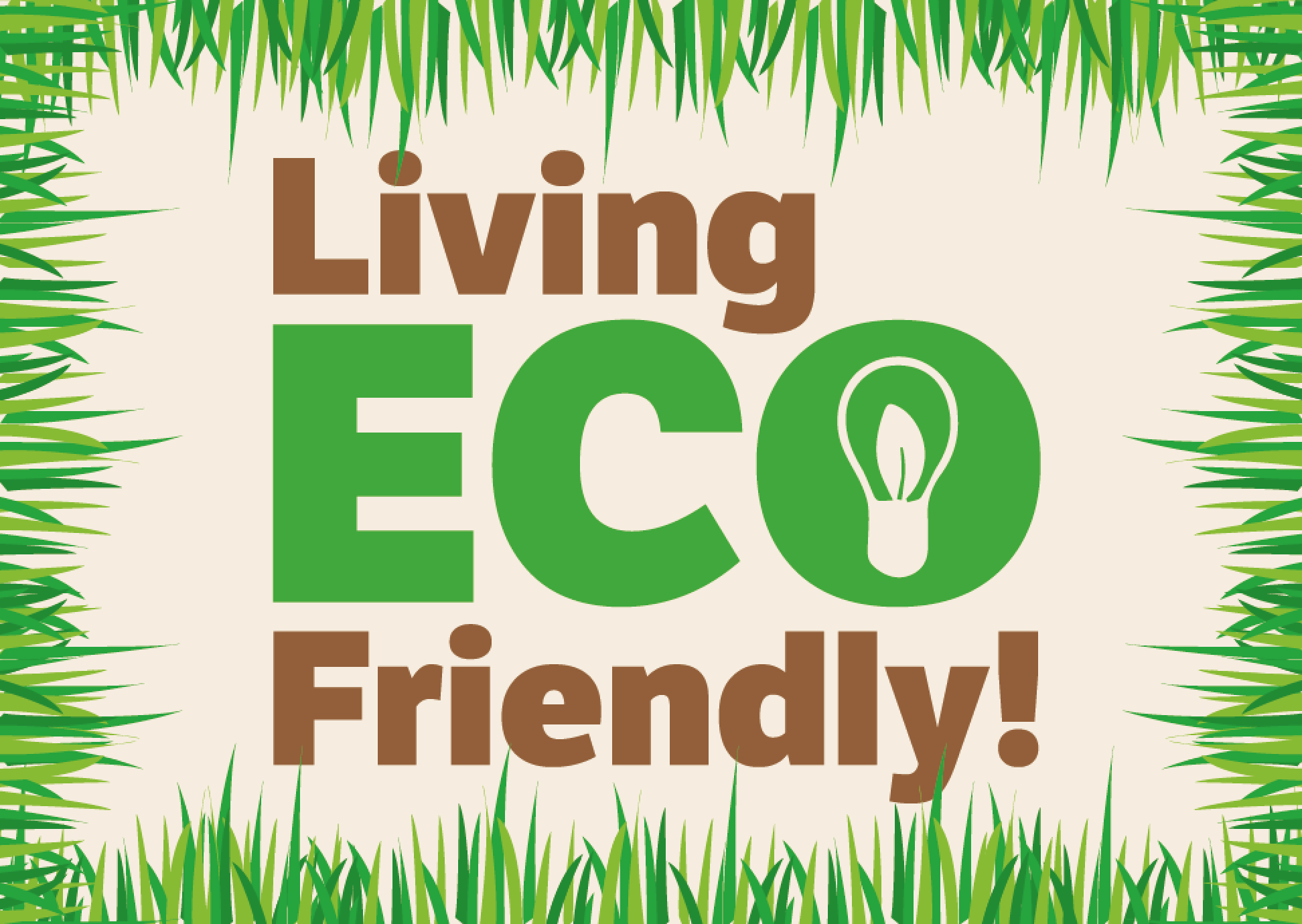 Course Image Living ECO Friendly!